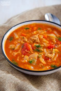 Aga, Thai Red Curry, Soup Recipes, Food And Drink, Tasty, Dinner, Cooking, Ethnic Recipes, Food Cakes