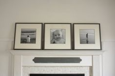painted ikea frame in gray.. in the Fun Lane: Frame by Frame
