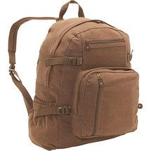 Walmart: Rothco Large Vintage Canvas Backpack