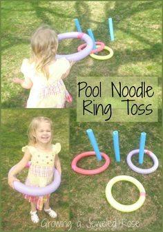 Games with Pool Noddles ~ Growing A Jeweled Rose