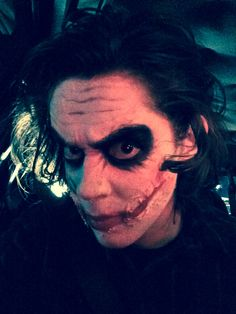 Halloween Makeup by Susie Gardner, Joker Makeup, Halloween Makeup, Specialty Makeup