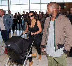 North, Kim & Kanye - September 7.