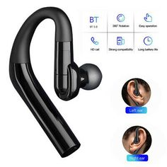 (Sponsored Link) Bluetooth Headset Wireless Headphone for Left and Right Ears iPhone Samsung LG Bluetooth Wireless Earphones, Headphones With Microphone, Gaming Headset, Link, Phone Accessories, Ears, Samsung