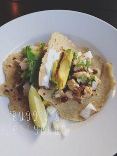 Chicken Al Carbon with Quinoa Tortillas {Clean Eats Day 1}
