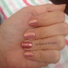 Stunning and simple using CND shellac in nude knickers and magpie glitter in Rosie and lilly Shellac Colors, Shellac Nails, Manicure, Nail Polish, Toe Designs, Nail Art Designs, Shellac Layering, Neon Acrylic Nails, Beauty Shop