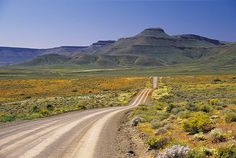 This poort primarily serves the local farming community to the south of Calvinia in the Northern Cape's Tankwa Karoo. It is a rough gravel road th. African Countries, Countries Of The World, South African Holidays, Namibia, Africa Travel, Places To See, Landscape Photography, Beautiful Places, Scenery