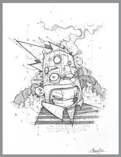 illustrations - late 2011 - part 01 by Monsta , via Behance