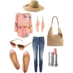 Love the floral, girly look of this. Great for home and vacation.