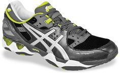 ASICS GEL-Intensity 2. Ideal for court, cardio, or any training. We've utilized running technology like our Clutch Collar System™ for rearfoot support & cushioning. #Training #Workout #Shoe