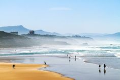Biarritz, France - The 20 Most Beautiful Places in Europe - Condé Nast Traveler Places In Europe, Places To See, Parc National, National Parks, Most Beautiful Beaches, Beautiful Places, Hotel Du Palais, Falaise Etretat, French Beach