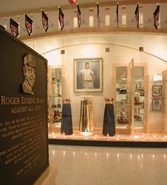 North Dakota:  I was on my own for this one. No one wanted to go to North Dakota with me. I decided to go to Fargo, ND and I went to the Roger Maris Museum.