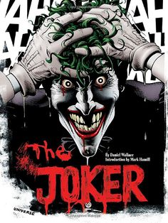 When it comes to supervillains, the Joker rules the evil roost. Daniel Wallace, author of The Joker: A Visual History of the Clown Prince of Crime, takes us on a hell ride through the bloody history of DC Comics' original gangsta of graphic violence. Comic Del Joker, O Joker, Harley Quinn Et Le Joker, Joker Art, Joker Clown, Comic Book Villains, Marvel Characters, Comic Books, Comic Art