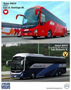 Volvo 9800 ado, ómnibus de México plus 6x2 México
