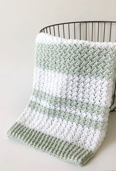 Sewing Ideas For Baby Crochet Sedge Stitch Baby Blanket Pattern - Crochet Afghans, Crochet Baby Blanket Beginner, Crochet Baby Blanket Free Pattern, Easy Crochet, Free Crochet, Knit Crochet, Crochet Blankets, Crotchet, Crochet Patterns For Blankets