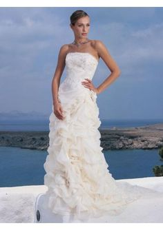 Beach Wedding Dresses     model gelin