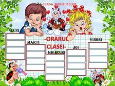 Orar School Frame, 4 Kids, Classroom Decor, Crafts For Kids, Comics, Knitting, Character, Centre, Gardening