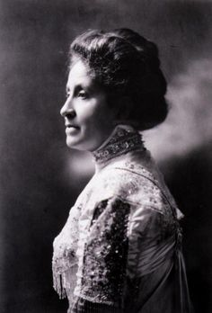 Mary Church Terrell, (1863 – 1954), daughter of former slaves, was one of the first black women to earn a college degree. She became an activist who led several important associations, including the National Association of Colored Women, and worked for civil rights and suffrage. Active in the Republican Party, she was president of the Women's Republican League during W. G. Harding's 1920 presidential campaign and the first election in which all American women were given the right to vote.