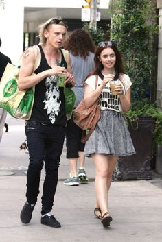 jamie bower and lily collins