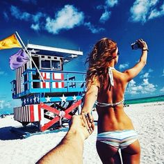 Just take me with you... to #Miami Beach  by @muradosmann Check out this couple's feed capturing amazing travel photos as they travel hand-in-hand through many incredible places #followmeto