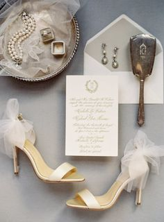 Featured Photographer: Kurt Boomer; Wedding shoes idea.