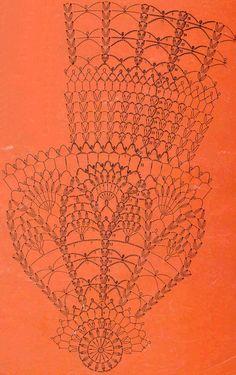 Круглая скатерть 3 крючок схема