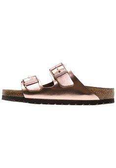 ARIZONA - Chaussons - metallic copper. Chaussures Birkenstock ARIZONA -  Mules ... 24cb1ba6870