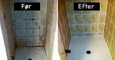 Prøv dette enkle rengøringstrick i badeværelset – du bliver forbløffet over resultatet.