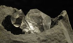 Herkimer Diamonds (Quartz from Hekimer)