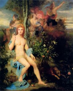gustave moreau Apollo and the nine muses - Google Search