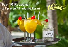 Check it out - a few tipping tips when you go all-inclusive. #CheapCaribbean