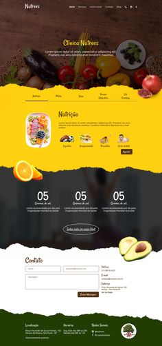 The website template should give a professional look and feel for the user. Different industry website design is different as per its client needs Food Web Design, Web Design Mobile, Web Design Quotes, Creative Web Design, Web Design Tips, Flat Design, App Design, Menu Design, Creative Studio