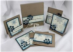 Serene Snowflakes Stamp Class by Email