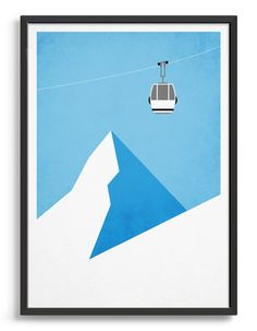 Rocket Jack Design: Minimal Contemporary Art Prints, Posters and Cards Typography Prints, Typography Poster, Ski Card, Ski Decor, Contemporary Art Prints, Alphabet Print, Kids Room Art, Winter Art, Aesthetic Art