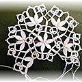Variation sur l'hexagone - Fils et dentelles