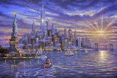 Коллекция картинок: Robert Finale. Картины, пронизанные светом
