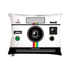 Instant Camera Pillow