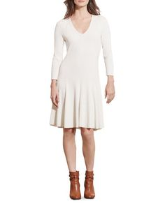 Lauren Ralph Lauren Ribbed Dress