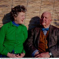 Julia Child and James Beard in Provence, December, 1970