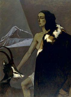 Romaine Brooks. La chasseuse 1920