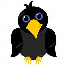Výsledek obrázku pro kreslená vrána