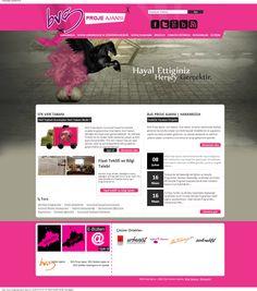 http://www.bvgproje.com/ #webdesign #webtasarım #binteraktif #pink