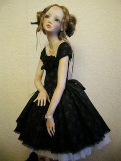 Marys Little Memories: Alisa Filippova Artist Dolls using Living Doll Clay