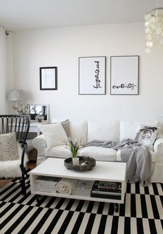 Obývák ve stylu nordic vintage − jednoduchý, čistý, nadčasový.