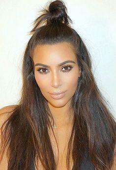 Pinterest: DeborahPraha ♥️ Kim kardashian makeup look #kimkardashian