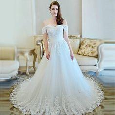 stylish bridal gown for wedding 2016