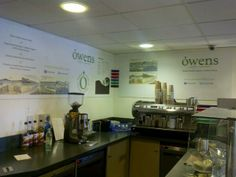 Think local! Owens yummy coffee is now appearing in the Refectory at City College Plymouth Kings Road