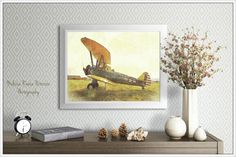 Antique Airplane Aviation Photography by MelissaReesePeterson