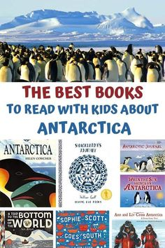 Divide by age these books about Antarctica are more than just about the penguins they feature the geography, life and explorers that have ventured to the continent. Ideal for homeschooling or classroom resources to learn about the South Pole and the Ice Continent at the bottom of the world.