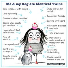 Me & my Dog are Identical Twins – Red and Howling Me And My Dog, Your Dog, I Love Dogs, Puppy Love, Animals And Pets, Cute Animals, Baby Animals, Latest Cartoons, Pekinese