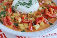 Red Curry with Tofu